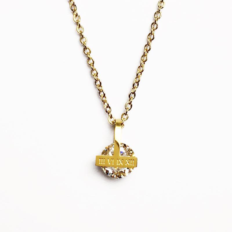 """Halskette """"Starke Frau"""" in Gold"""